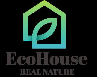 Broker - Eco House logo design
