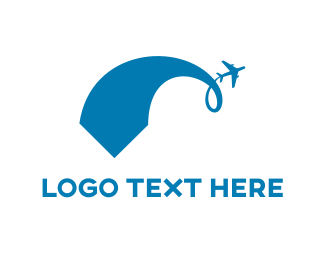 Honeymoon - Blue Plane logo design