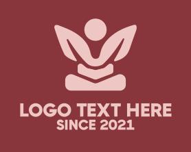 Chiropractic - Zen Yoga Spa logo design