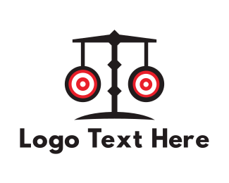 Scale - Target Scales logo design