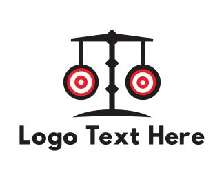 Bullseye - Marksman Lawyer logo design