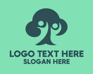 Foundations - Cloud Tree logo design