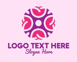Decorative - Decorative Cosmetic Rose logo design