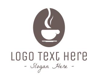 Hot Drink - Brown Coffee logo design