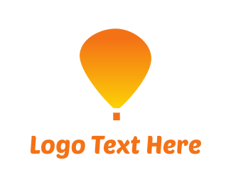 Journey - Orange Balloon logo design