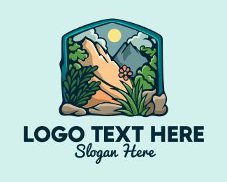 Scenery - Outdoor Gardening Frame logo design
