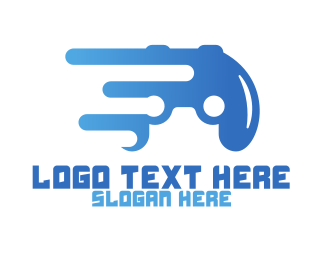 Break - Abstract Controller logo design
