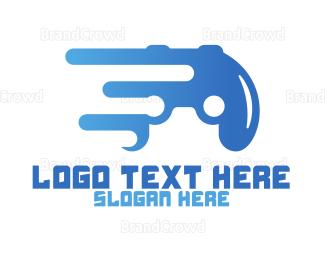 Remote - Abstract Controller logo design