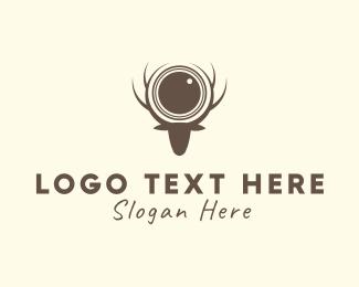Reindeer - Reindeer Photography logo design