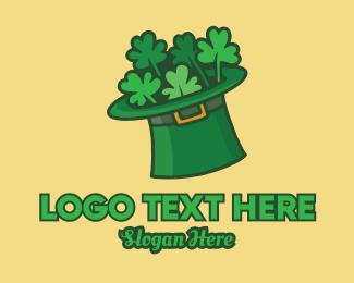 Costume Designer - Leprechaun Shamrock Hat  logo design