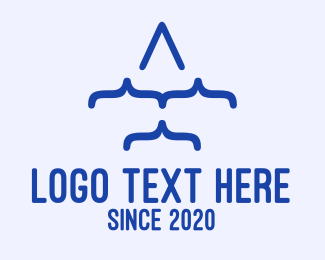 Web Developer - Plane Code logo design