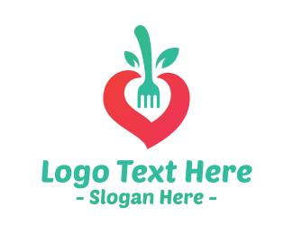 Food Blogger - Diet Care logo design