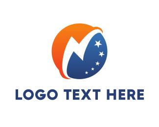 Globe - Thunder Globe logo design