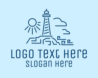 Minimalist - Minimalist Lighthouse logo design