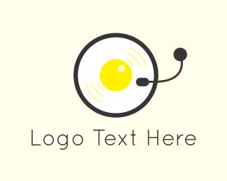 Egg & Music Logo