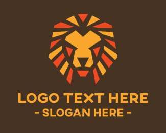 Tribe Leader - Tribal Lion Mane logo design
