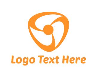 Orange And White - Orange Fan logo design