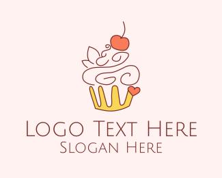 Yummy - Yummy Cupcake Dessert logo design