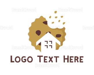 Bake Shop - Cookie House logo design
