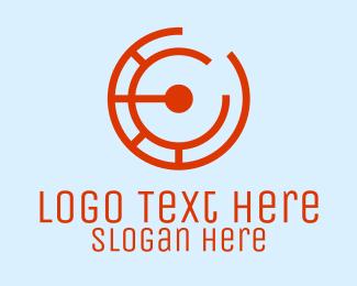 Electronic - Electronic Letter C logo design