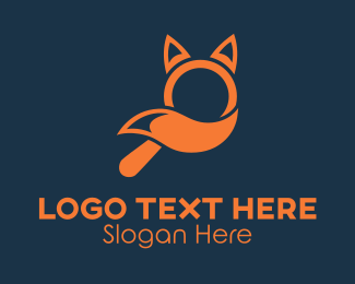 Search Engine - Fox Search Finder  logo design