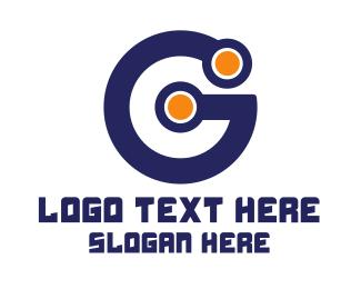 Gaming - Blue Digital G logo design