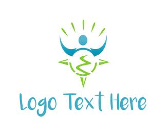 Earth - Global Traveller logo design