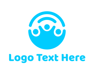 Crowdsourcing - Help People logo design