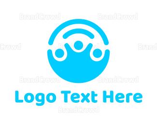 Crowdsourcing - Help People logo design