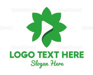 Media - Flower Media logo design