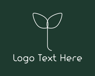 Cosmetic - White Sprout logo design