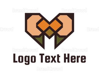 Write - Pencil Heart logo design