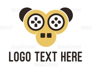 Monkey - Gamer Monkey  logo design