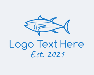 Restaurant - Tuna Fish Seafood logo design