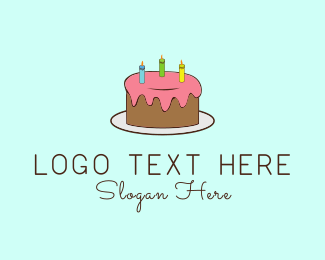 Cake - Birthday Cake logo design