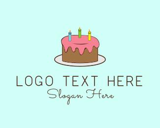Icing - Birthday Cake logo design