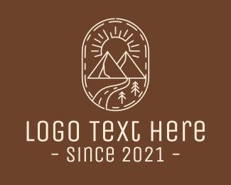 Explorer - Simple Outdoor Travel logo design