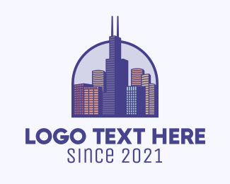 Chicago - Chicago City Metropolis logo design