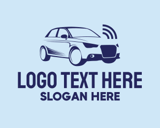 Alarm - Sedan Car Alarm logo design