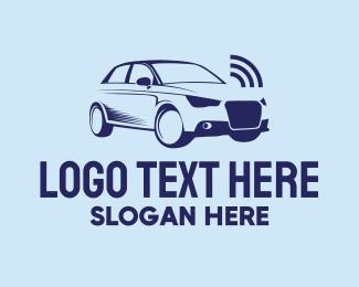 Sedan - Sedan Car Alarm logo design