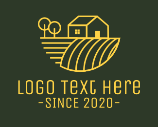 Farmland - Farming Agriculture Ranch logo design