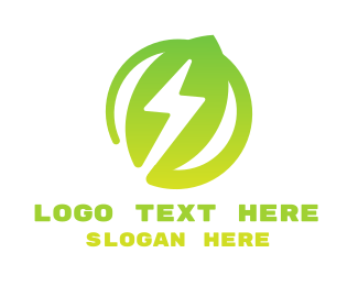 Recycle - Energy Leaf logo design