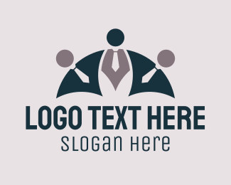 Outsourcing - Business Team logo design