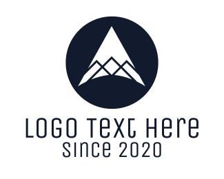 Peak - Minimalist Mountain Peak logo design