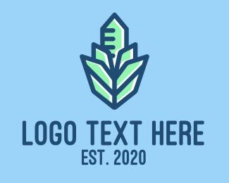 Crystal - Crystal Building Construction logo design