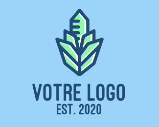 Construction Crystal Building Construction logo design
