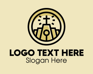 Catholic - Holy Chapel Emblem  logo design
