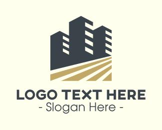 Capital - Modern Business Buildings logo design