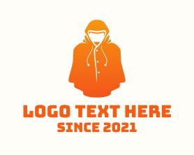 Gaming - Orange Jacket Clothing logo design