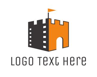 Castle Film Flag Logo